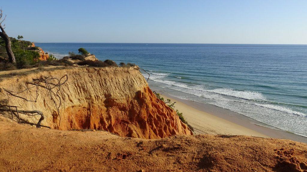 Algarven ranta Algarvessa.