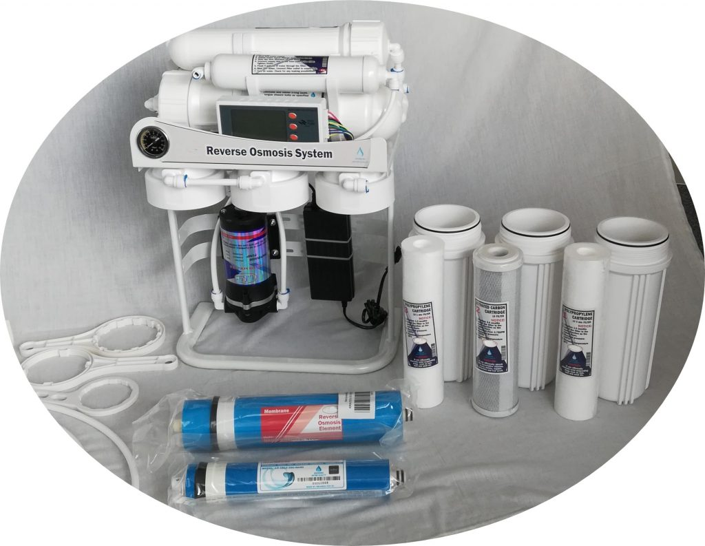 Käänteisosmoosiin perustuva vedenpuhdistus
